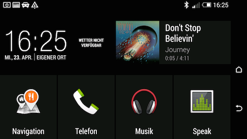HTC One M8 - App Car
