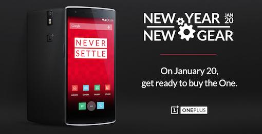 OnePlus Bestellmöglichkeit am 20.1.2015