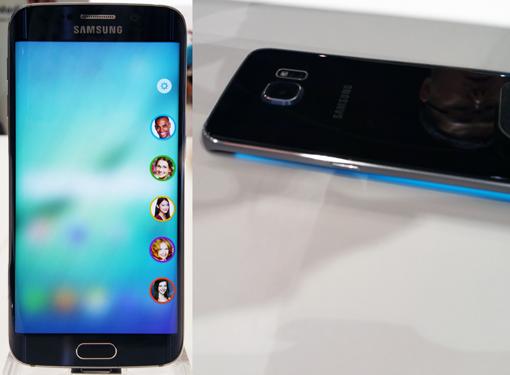 People Edge beim Galaxy S6