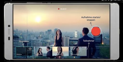 Huawei P8 Regisseurmodus