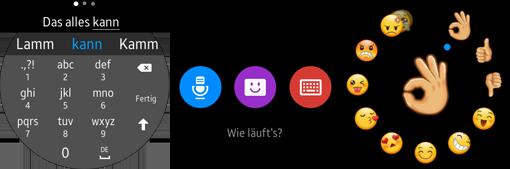 Samsung Gear S2 Text