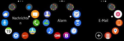 Samsung-Gear-S2-vorinstallierte-Apps