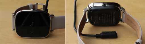 Asus Zenwatch 2 Laden