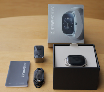 Asus Zenwatch 2 Lieferumfang