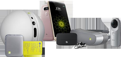 Das neue LG G5 mit Zubehör (& Friends)