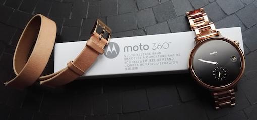 Moto 360 Bandwechsel