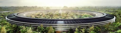 Apples neues Hauptquartier, der Campus 2