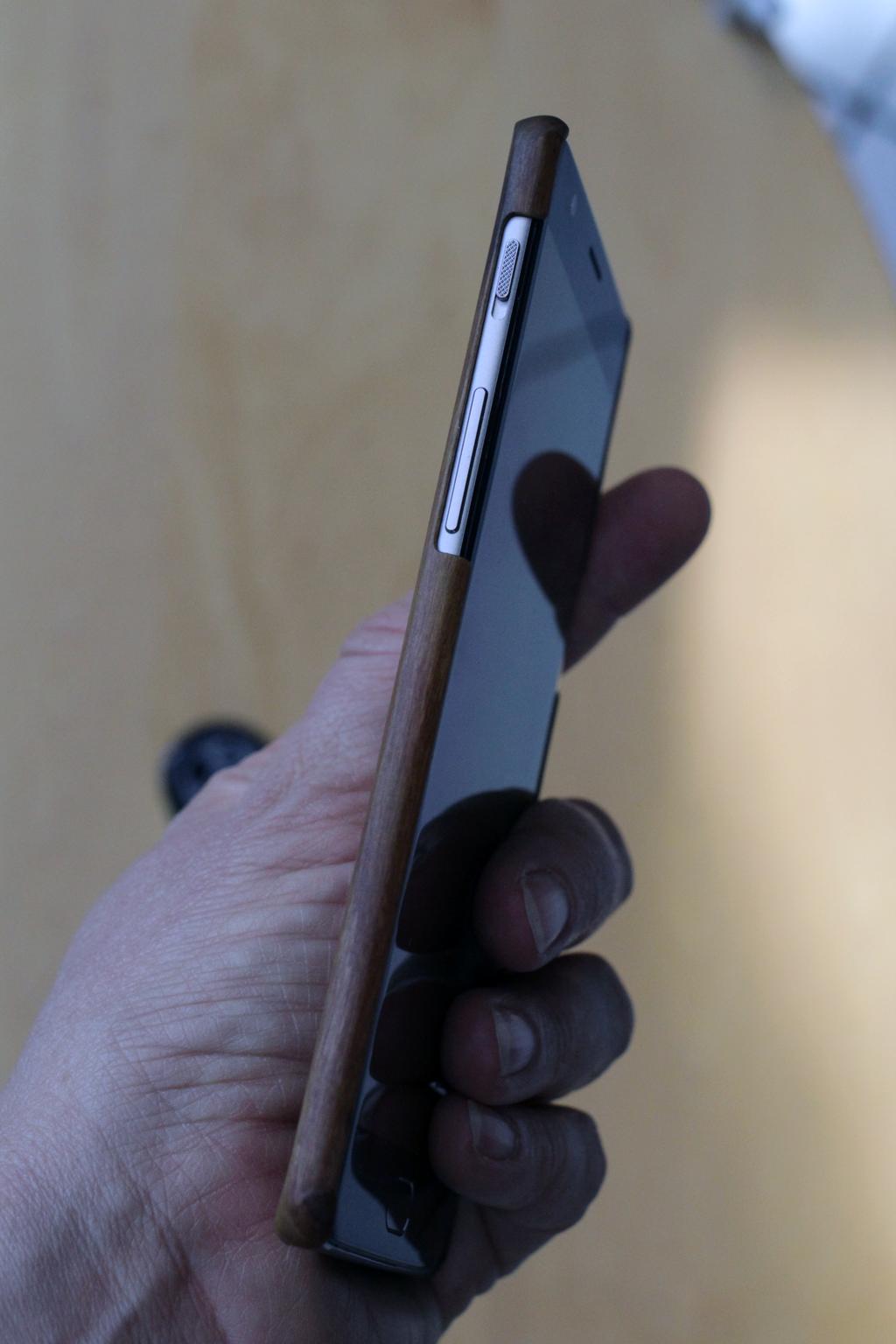 OnePlus 3 Rosewood Case
