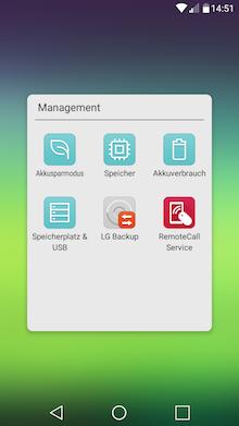 LG Stylus II - Ordner USB-Management