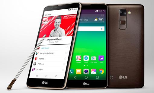 LG Stylus 2 - Farbpalette