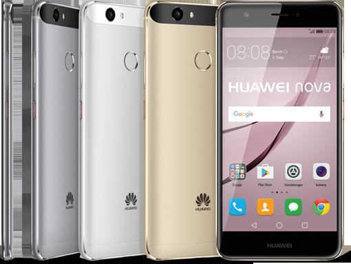 Huawei Nova Farben